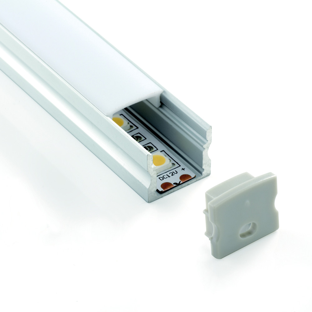 Low Spotting Aluminium Profile Channel For LED Strip (2m)