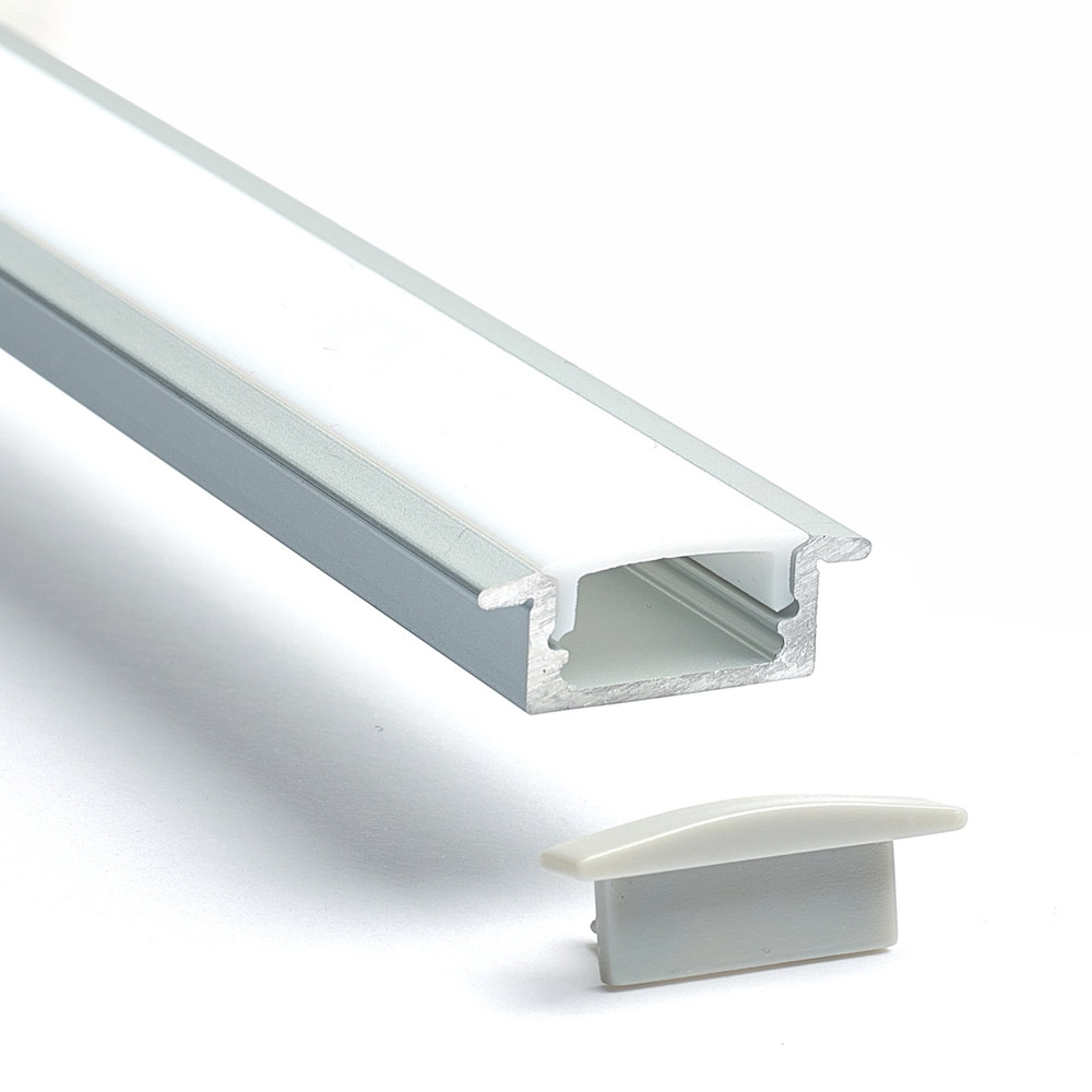 Recessed Aluminium Profile Channel For LED Strip (2m)