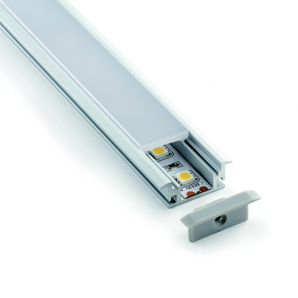 Floor Mounting Aluminium Profile Channel For LED Strip  (2m)