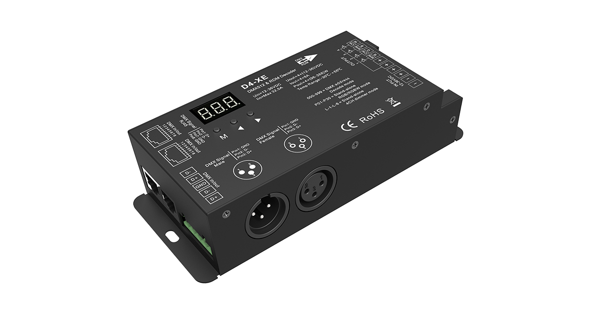 Halo30: DMX 4 channel decoder