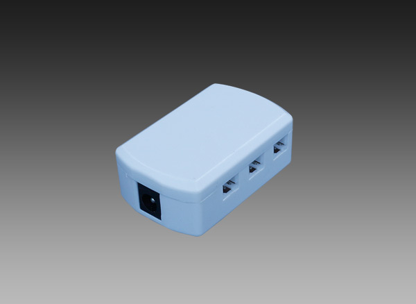 6 Way JST Distribution Box with DC  Connector